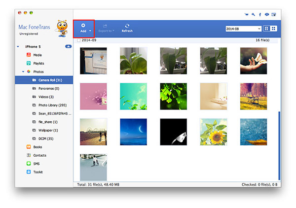 how to get ip hone photos from pc backup