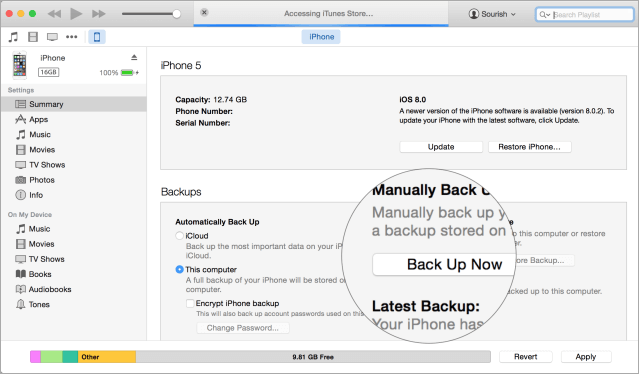 How to Backup iPhone with iTunes and iCloud