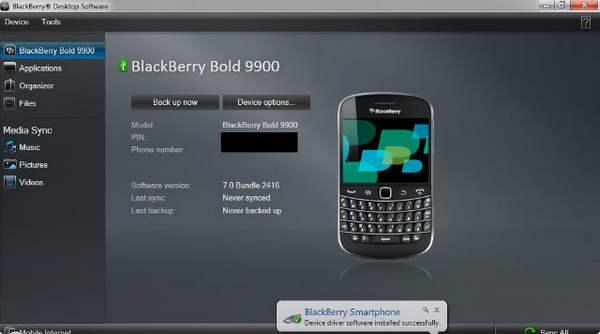 Transfer Text Messages and Contacts from Blackberry to