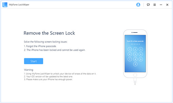 Unlock iPhone Passcode when Forgot iPhone Screen Lock Passcode