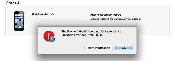 Common iTunes Error when Restoring iPhone \u2013 How to Fix