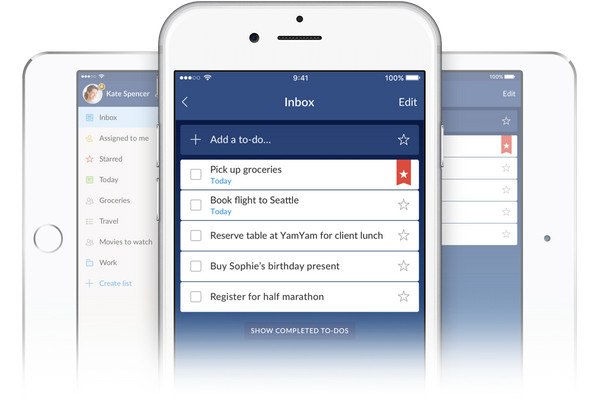 wunderlist for iphone